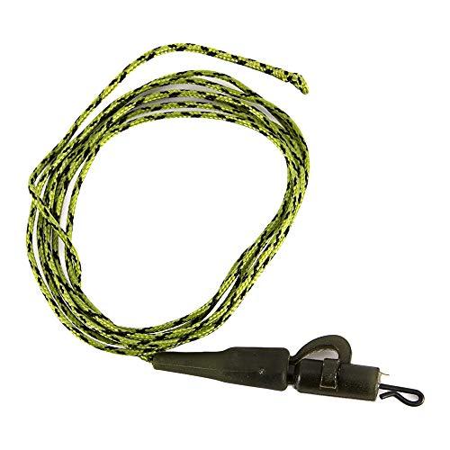 Walmeck- 1 stücke / 4 stücke Lead Core Angelschnur £ £ Looped Karpfenangeln Führer Mit Hülse Ring Swivel Angelgeräte -