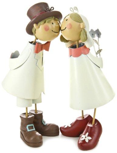 """'-verlobt-casado: la idea de regalo para romántica boda-""""Pájaros knutschis pareja de novios"""": el romántica pareja de novios """"knutschis"""", se puede poner en varios, pesca amorosa. así como por ejemplo un zärtlicher beso, la idea de regalo para bo..."""