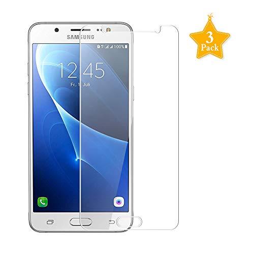 Preisvergleich Produktbild MöWü Kompatibel mit Panzerglas Schutzfolie Samsung Galaxy J5 2016 [0.33mm,  Ultra-klar,  9H Härte]