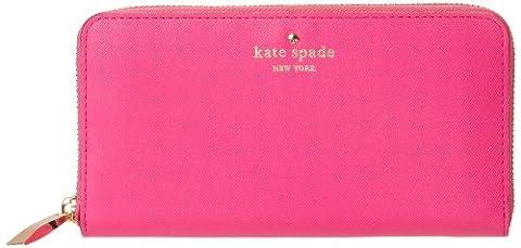 Kate Spade PWRU3438-670 Women's Cherry Lane Lacey Leather Wallet