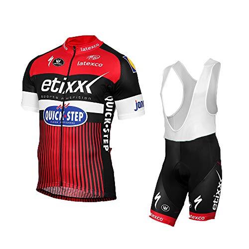 Wulibike Fahrradbekleidung Herren Sommer Fahrrad Trikot Hose Set Team Radsport Bekleidung Outlet XXL