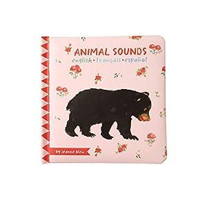 Manhattan Toy Animal Sounds - Libro de bebé (a Partir de 6 Meses)