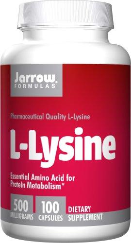 Jarrow Formulas, L-Lysin 500, 500 mg, 100 Kapseln