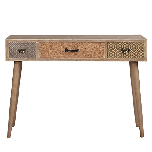 Viva Home Wooden Console Table/Writing Desk Rustic, used for sale  Delivered anywhere in UK