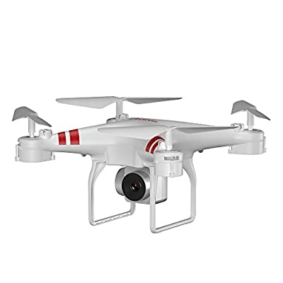 Anyutai 2.4G 4-Way 6-Axis 1080P Camera Four-Axis Aircraft, Four-Axis Gyroscope Drone Toy Gift (Black)