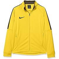 Nike Niños academy18Knit Track Chaqueta de Entrenamiento, Todo el año, Infantil, Color Tour Yellow/Anthracite/Black, tamaño Large