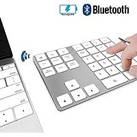 Ziffernblock Wireless JOYEKY Bluetooth-Numpad mit Multi-Funktion, Print Screen, Search, Rechneranwendung etc. für PC,Notebook kompatibel mit Windows, Android, iOS