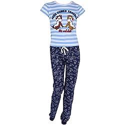 Disney -:- Chip and Dale Pyjama Bleu Tic et Tac Les Rangers du Risque - Large