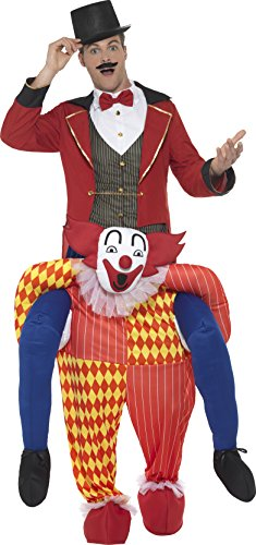 SMIFFY 'S 47159 Piggyback Clown Kostüm, gelb, One Size