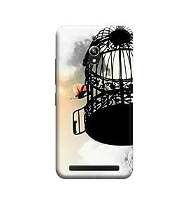 Ebby Premium Printed 3D Designer Back Case Cover For Asus Zenfone Go (Premium Designer Cae)
