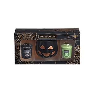 YANKEE CANDLE Coffret Cadeau Halloween avec Bougies parfumées votives en Cire