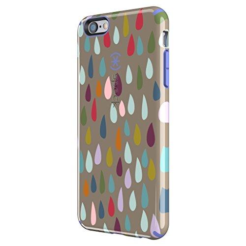 Speck SPK-spk-a3186CandyShell Inked Schutzhülle für Apple iPhone 6Plus, Polycarbonat, Grey, Pink, iPhone 6 Plus Rainbow Drop Spectrum/Wisteria Purple