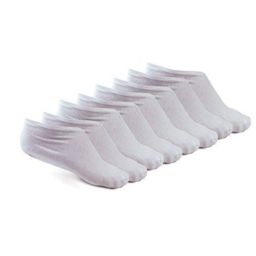 Zcoins 4 Paar Baumwolle feuchtigkeitsspendende Socken für feuchtigkeitsspendende Zwecke für trockene rissige raue Haut