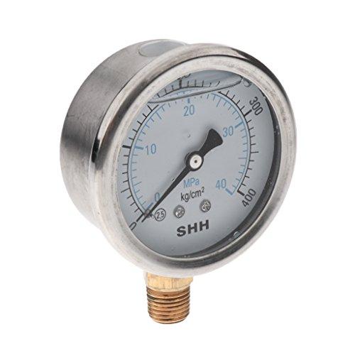 - Manometer Flüssigkeit (Gazechimp 0-40mpa Test Meter Manometer für Airless Farbspritzmaschine Lackierer)