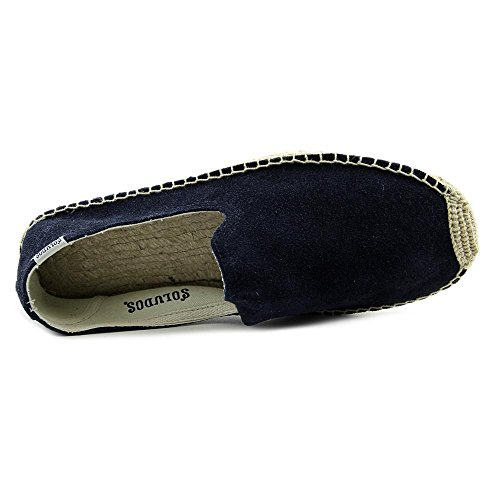 Soludos Smoking Slipper Daim Espadrille Navy