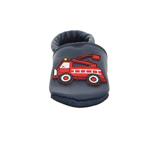 Trostel 9200 Motiv Feuerwehr Nr. 11 9200 FEUERWEHR Kleinkinder Babyschuhe Kaltfutter Blau (Blau)