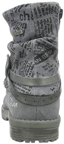 s.Oliver 45425, Bottes Classiques Fille Gris (Grey 200)