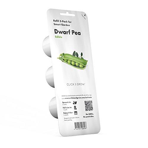 Refill 3er Pack für Click & Grow Smart Herb Garden Dwarf Pea