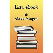 Lista ebook di Alessio Mangoni (Italian Edition)