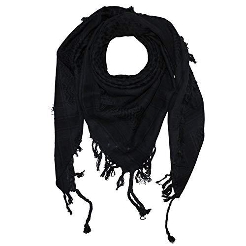 Superfreak® Palituch zweifarbig klassisch°PLO Schal°100x100 cm°Pali Palästinenser Arafat Tuch°100{77a41921e1a742da7aa88de33fc5fe6e02f90097deecf993c956ec8c5e61c5f9} Baumwolle, Farbe: grau-dunkel/schwarz