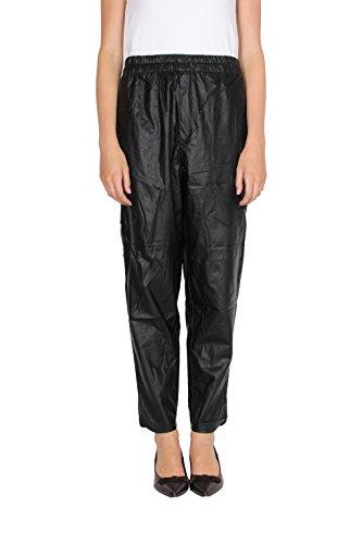 isabel-marant-etoile-morbido-donna-pa0475-pantalone-morbido-vita-alta-zip-tasche-nero-38