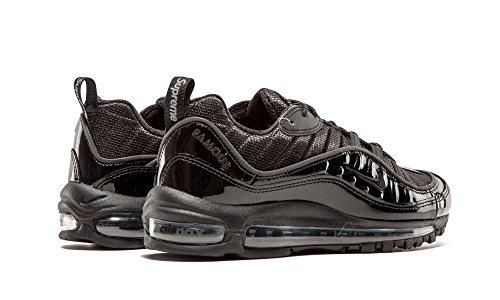 Nike Air Max 98 / Supreme, Chaussures de Running Entrainement Homme Noir