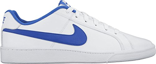 Nike Court Royale, Zapatillas Hombre, Blanco/Azul (White/Game Royal), 43 EU