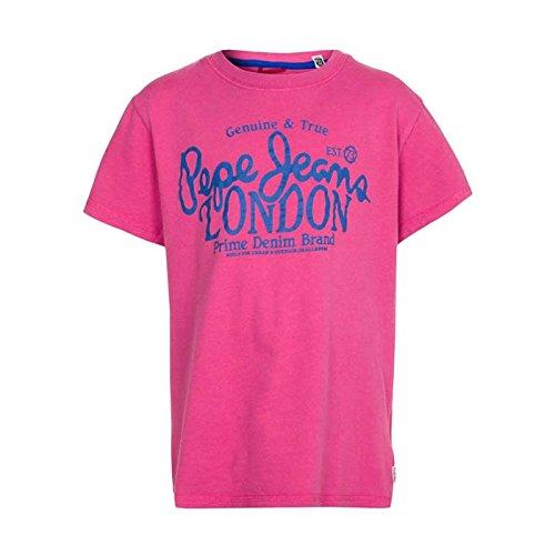 Pepe Jeans -  Maglietta  - Stampe  - Collo rotondo  - Maniche corte  - Bebè maschietto rosa 16 anni