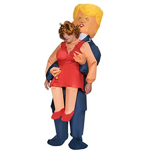 President Pick Me Up - Aufblasbares Carry Me Fun-Kostüm - ()