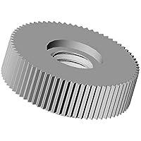 ajile - 20 Stücke - Rändelmutter - M6   Länge L = 16 mm   WEIß PA6.6 Polyamid Plastik Nylon - Isolierend