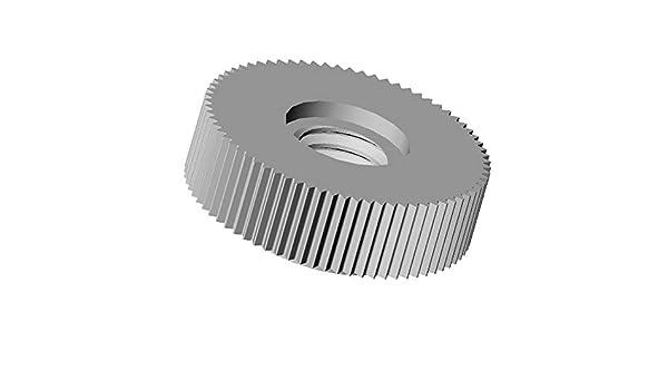 Isolierend R/ändelmutter ajile M6 20 St/ücke SCHWARZ PA6.6 Polyamid Plastik Nylon L/änge L = 16 mm