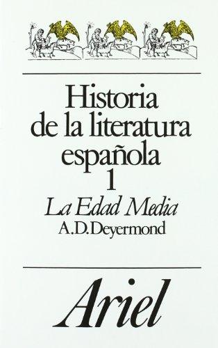 Historia De La Literatura Espanola : La Edad Media: 1 (Letras e ideas)