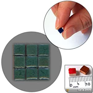 Mosaico-Minis (5 x3mm), 5000 pcs,  Aguacate, RG07