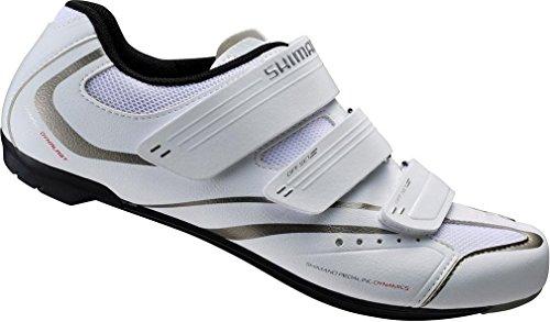 Shimano Chaussures vélo pour femme chaussures de course SH WR32Gr. 4SPD-SL 3klettverschl. blanc