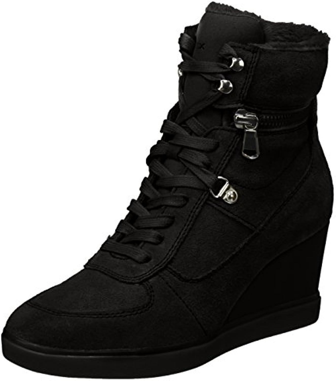 Geox Damen D Eleni B Hohe Sneaker