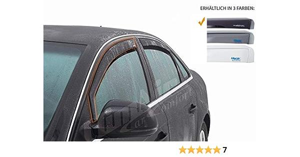 Vordere Windabweiser 1 Set Für Die Fahrer Und Beifahrerseite Cls0033829d Passend Für Suzuki Sx4 S Cross Typ Jy Glw 5 Door 2013 Dunkles Material Auto