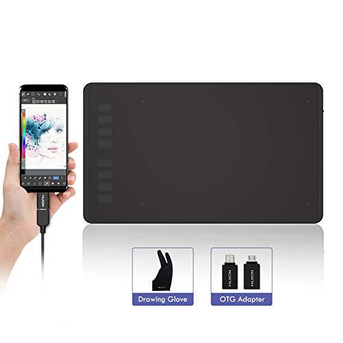 HUION INSPIROY H950P Grafiktablett Tablet 8192 Stufen mit der Kippfunktion, 8 Expresstaste