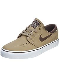 new style 3cf90 08392 Nike SB Zoom Stefan Janoski L Khaki White Gum Light Brown Baroque Brown