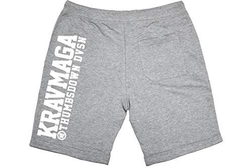 Thumbs Down. Pantalones Cortos Krav Maga. Hombre Casual