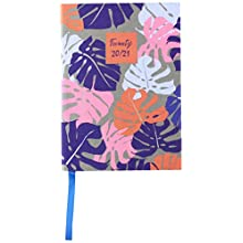 Collins Enchanted A6 Week to View 2020-2021 Diary - Multicoloured