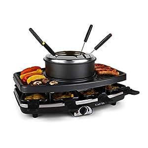 Klarstein entrecote appareil raclette appareil for Appareil multifonction cuisine