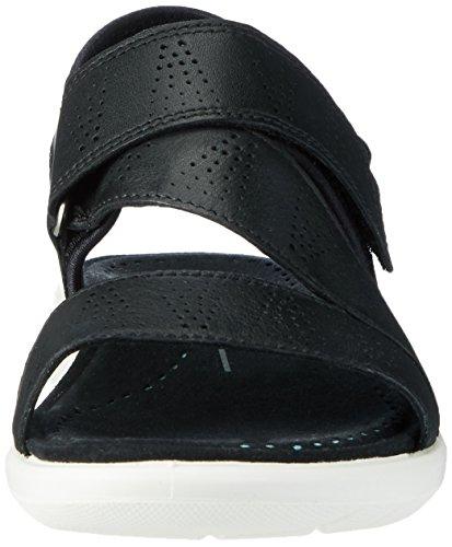 Ecco Ecco Soft 5 Sandal, Sandales  Bout ouvert femme Schwarz (51707BLACK/BLACK)