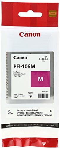 Preisvergleich Produktbild Canon 6623B001 Tintenpatrone PFI-106M, magenta
