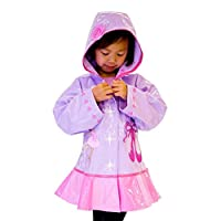 Kidorable Girls Ballerina Raincoat Extra Small (70 cm - 76 cm )12 - 18 Months