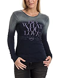 Timezone Longsleeve - T-shirt - Femme