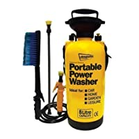 8Ltr Portable Power Jet Washer Caravan Conservatory Boat Quad Motor Bike Cleaner 17