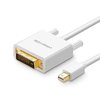 UGREEN Câble Mini Displayport vers DVI 1080P Thunderbolt Compatible avec MacBook Air, MacBook Pro, Surface Pro, Chromebook Pixel, Lenovo Thinkpad par Ugreen Group Limited