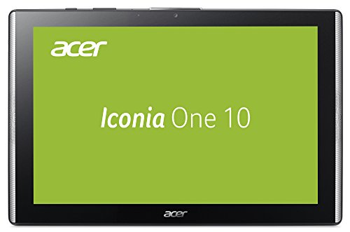 Acer Iconia One 10 B3-A40 25,65 cm (10,1 Zoll FHD IPS Multi-Touch) Multimedia Tablet (MediaTek Quad-Core Cortex A35, 2GB RAM, 16GB eMMC, Android 7.0) schwarz