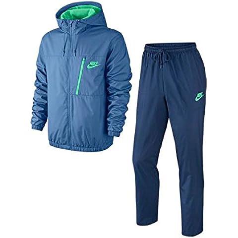 Nike M Nsw Trk Suit Wvn Winger - Chaqueta para hombre, color azul, talla M