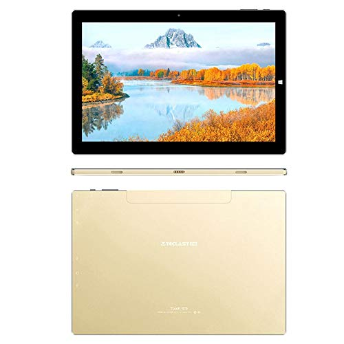 Convertible Tablet PC 2 In 1 Windows 10 + Android, 4G + 64G, 10.1 Zoll 19201200 HD Bildschirm mit Mini HDMI for Office, Travel, Games, Portable Multifunction PC